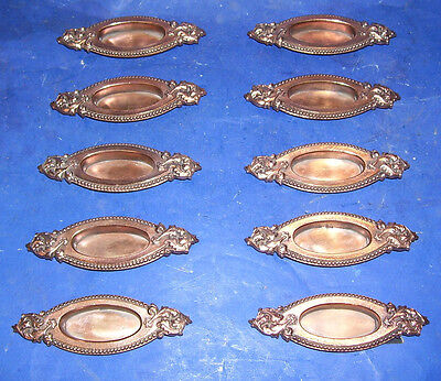 HEAVY Brass WINDOW LIFTS - 10 Matching - Victorian - BEAUTIFUL! (DH619)