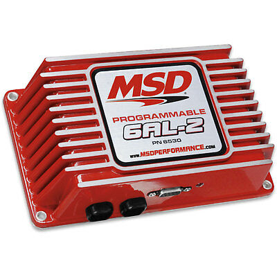 MSD Ignition 6530 6AL-2 Programmable Ignition Control Module 6 Series Controller