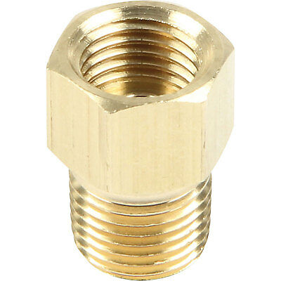 Brass 1/8 Npt x 3/8-24 Inverted Flare 3/16 Brake Hard Line BMFI125187@SpeedTech