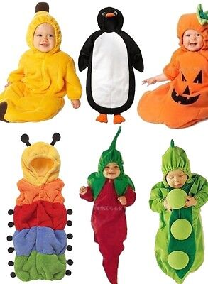 Cute Baby one piece Romper Costume Outfit Clothes Sleeping Bag 70cm/95cm