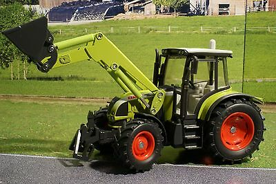 Siku 3656 - Claas Ares 697 Tractor with Front Loader Diecast - 1:32 Scale