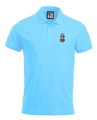 Coventry City Football Polo New Sizes S-XXXL Embroidered Logo