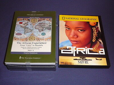 Teaching Co Great Courses DVDs      AFRICAN EXPERIENCE Lucy Mandela  new + BONUS