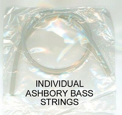 Ashbory Bass Guitar Silicone Strings- single E-A-D-G Strings & Our Own G-Strings