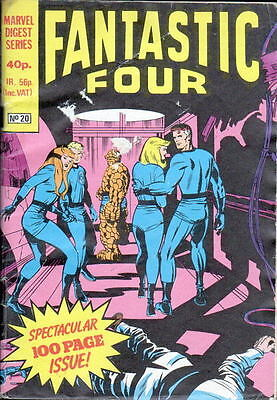 Marvel Digest Series 100 pg Issue #20 - The Fantastic Four British Series