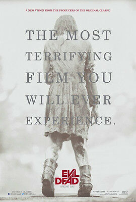 Evil Dead  2013 Single Sided 27x40 Movie Theater Poster Zombie