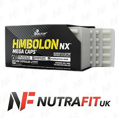 OLIMP NUTRITION HMBOLON NX MEGA CAPS hmb aakg tri creatine malate