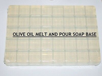 Olive Oil Melt And Pour Soap Base Soap Making Supplies ***Free Shipping***
