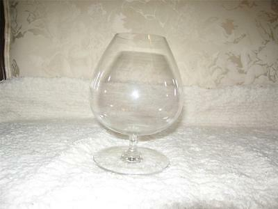 Baccarat France Perfection Small Snifter Glass Goblet Signed Clear