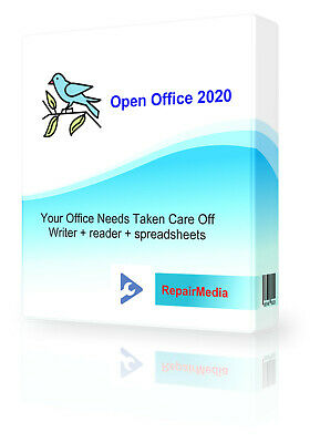 OFFICE Professional Software Suite 2019 Word Processor Publisher Powerpoint DVD