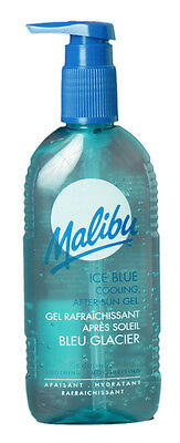 Malibu Ice Blue Cooling After Sun Gel Soothes And Hydrates 200ml
