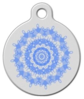 CAT FLOWER TOO - Custom Personalized Pet ID Tag for Dog and Cat Collars