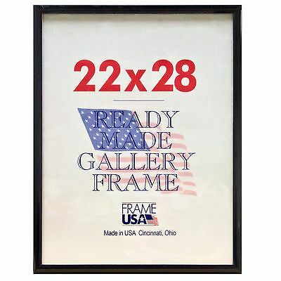 11X14 DELUXE POSTER Frame Pack of 6 Frames - Black, Silver or Gold ...