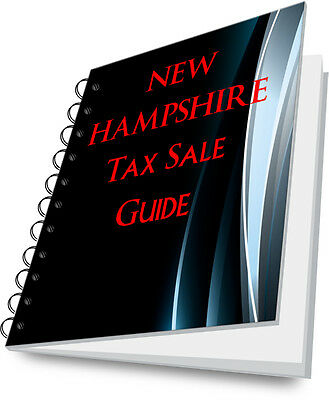 NEW HAMPSHIRE NH Tax Lien Certificate Tax Sale Guide NEW!