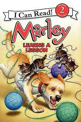 Marley Learns a Lesson by John Grogan (English) Hardcover Book Free Shipping!