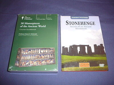 Teaching Co Great Courses DVDs    30 MASTERPIECES of the ANCIENT WORLD   + bonus