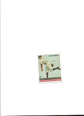 1978 Dover Reprint of 1933 Goudey Card #138 Herb Pennock