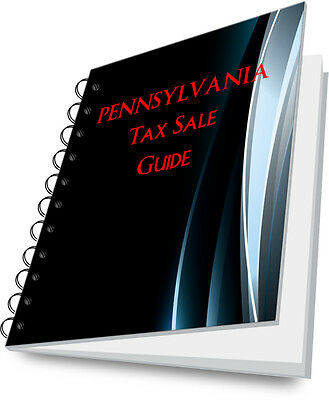 PENNSYLVANIA PA Tax Deed State Guide For Real Estate Investing!