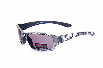 Kids Camouflage sunglasses for fishing, hunting and sports activity