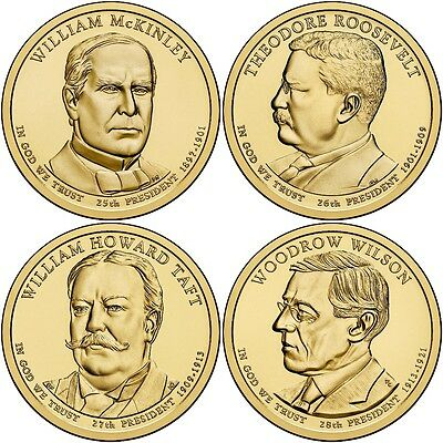 2013 Presidential Dollar 8-Coin Set Uncirculated Set P and D - Fast Shipping