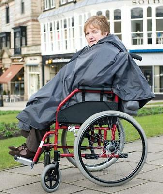 Ducksback waterproof wheelchair poncho