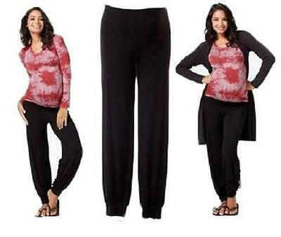 Top Woman Maternity Harem Pants Ali Trousers Pregnancy Clothes Size 8 10 12 14