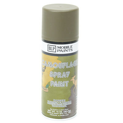 WWII Military type Olive Drab BLP Camouflage Spray Paint- 123-49