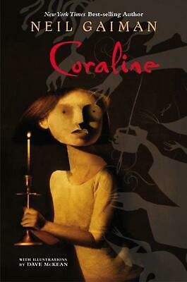 Coraline: Deluxe Modern Classic by Neil Gaiman (English) Hardcover Book Free Shi