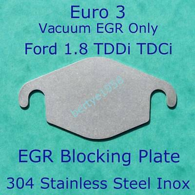 EGR valve blanking plate Ford Euro3 Transit Connect Focus Mondeo 1.8 TDDI TDCi S