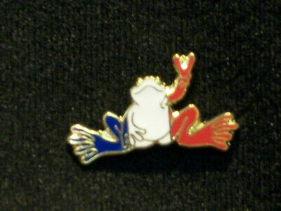 "New Peace Frogs 1"" France Flag Lapel Pin"