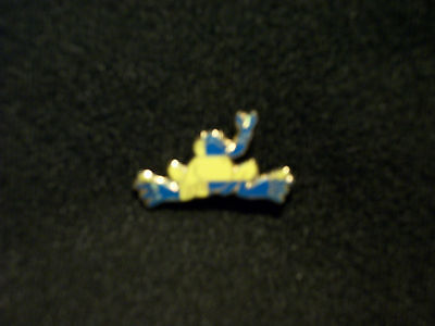 "New Peace Frogs 1"" Sweden Flag Lapel Pin"