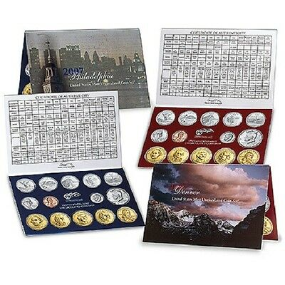 2007 U.S. Mint Set - Complete P & D 28-coin Includes Burnished President Dollar