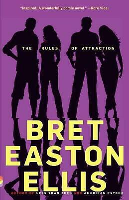 The Rules of Attraction by Bret Easton Ellis (English) Paperback Book Free Shipp