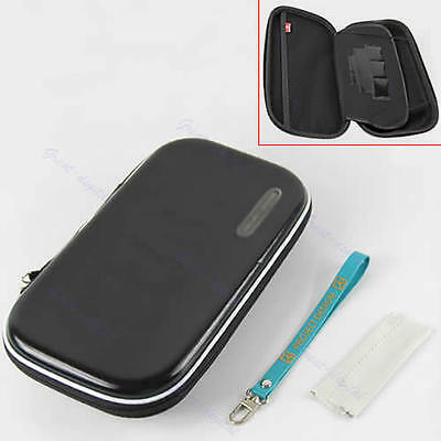 Black Carry Pocket Case Bag Pouch For Nintendo WII U Gamepad Remote Controller