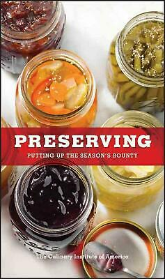 Preserving by Culinary Institute of America The Hardcover Book (English)