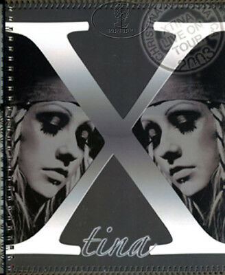 CHRISTINA AGUILERA 2003 Tour Concert Program Book Programme