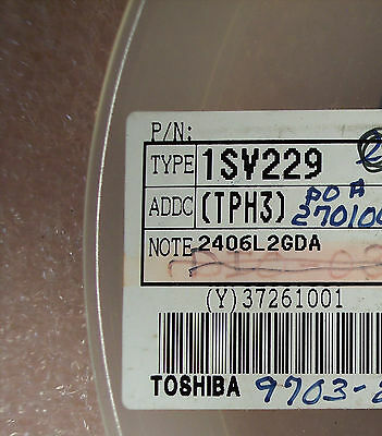 QTY (50) 1SV229 TOSHIBA VARIABLE CAPACITANCE  DIODE 15V 14-16pf SMD