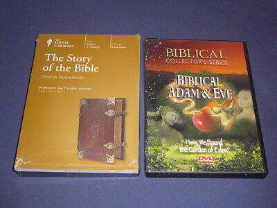 Teaching Co Great Courses DVDs         THE STORY OF THE BIBLE     new + BONUS
