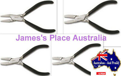 Nylon Jaw Pliers - various shapes - no more scratching wire & plate!!