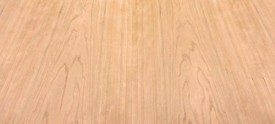 """Cherry wood veneer 24"""" x 96"""" with paper backer 1/40th"""" thick """"A"""" grade quality"""