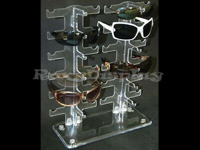 Sun Glasses Racks Display Stands Case Rack # SU12BCLEAR