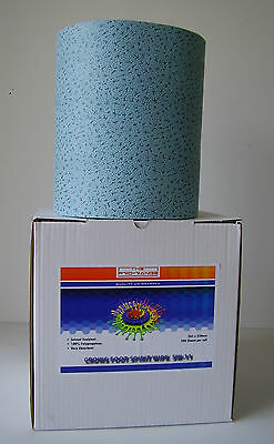 Blue Crows Foot Solvent Wipe / Cloth Roll - Body Shop Crowsfoot Dispenser Box