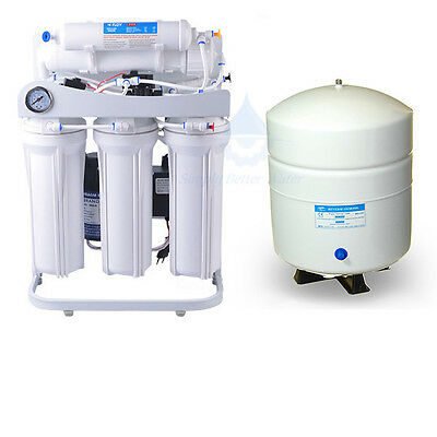 Light Commercial Reverse Osmosis Water Filter System 150 Gallons Per Day