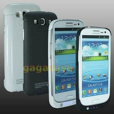 1x UltraSlim Samsung Galaxy S3 III Extended Battery Case Cover Backup Power Pack