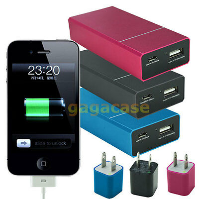 5000mAh  Power Bank Portable External Battery For iPhone 3 4S 5 5C 5S 6 6S Plus