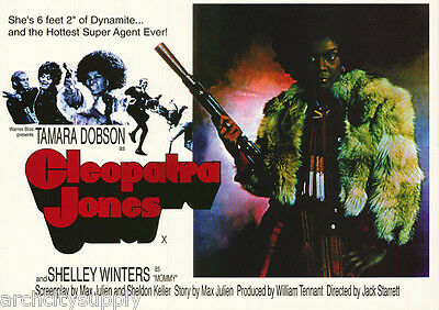Poster: Movie Repro: Cleopatra Jones  -   Free Shipping !  Lw12 N