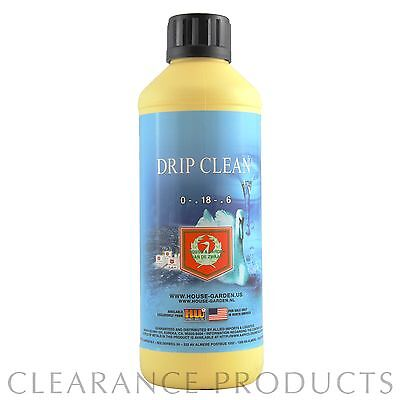 House and Garden Drip Clean 500mL House & Garden Flushing Agent Hydroponics