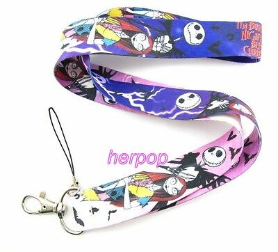 new 10pcs Purple ghost Mobile Phone LANYARD Neck Strap Charms