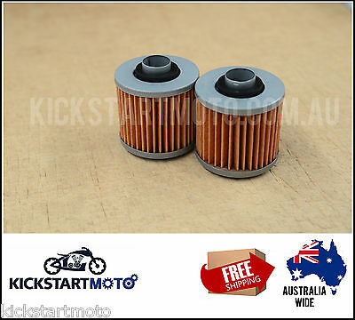 Oil Filter for Yamaha XT250 TT500 TT600 TTR600 XT600 XT660 XTZ660 YFM700 (pair)