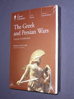 Teaching Co Great Courses  DVDs        THE GREEK and PERSIAN WARS   new & sealed